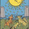 【タロット意味・解釈】塔(The Tower)正位置→「己の常識を打ち破れ!」/月(The Moon)正位置→「密かに進化するのだ」